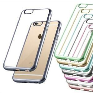 Custodia-Cover-Silicone-per-Apple-Case-Bordo-Cromato-TPU-Bumper-Protezione