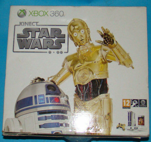 Console Microsoft XBOX 360 Kinect Star Wars - jeu StarWars
