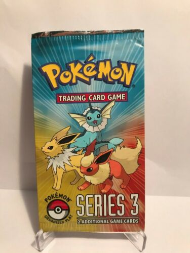 Series 3 Booster Pack Pokemon Organized Play 1 Pokemon Pop