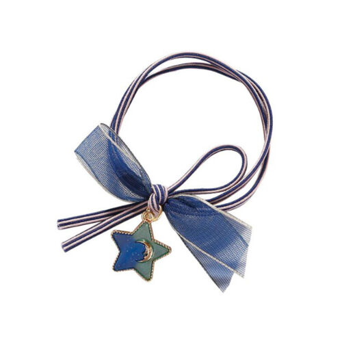 Women Star Sky Ponytail Holder Elastic Rubber Band Hairband Hair Accessories