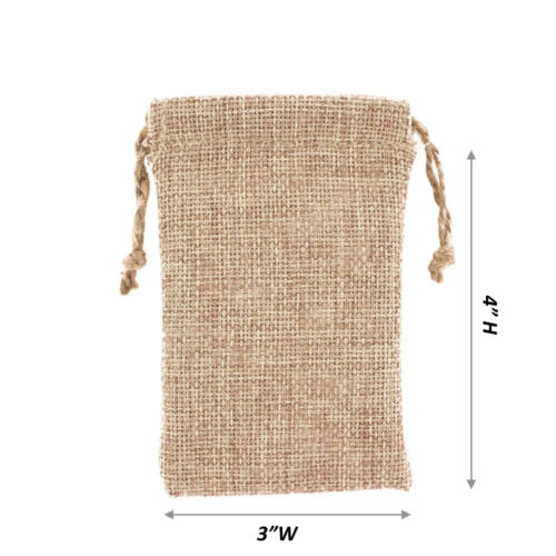 Drawstring Bags for Jewelry Pouch Burlap Gift Bags Burlap Pouch Bags 12~36~144