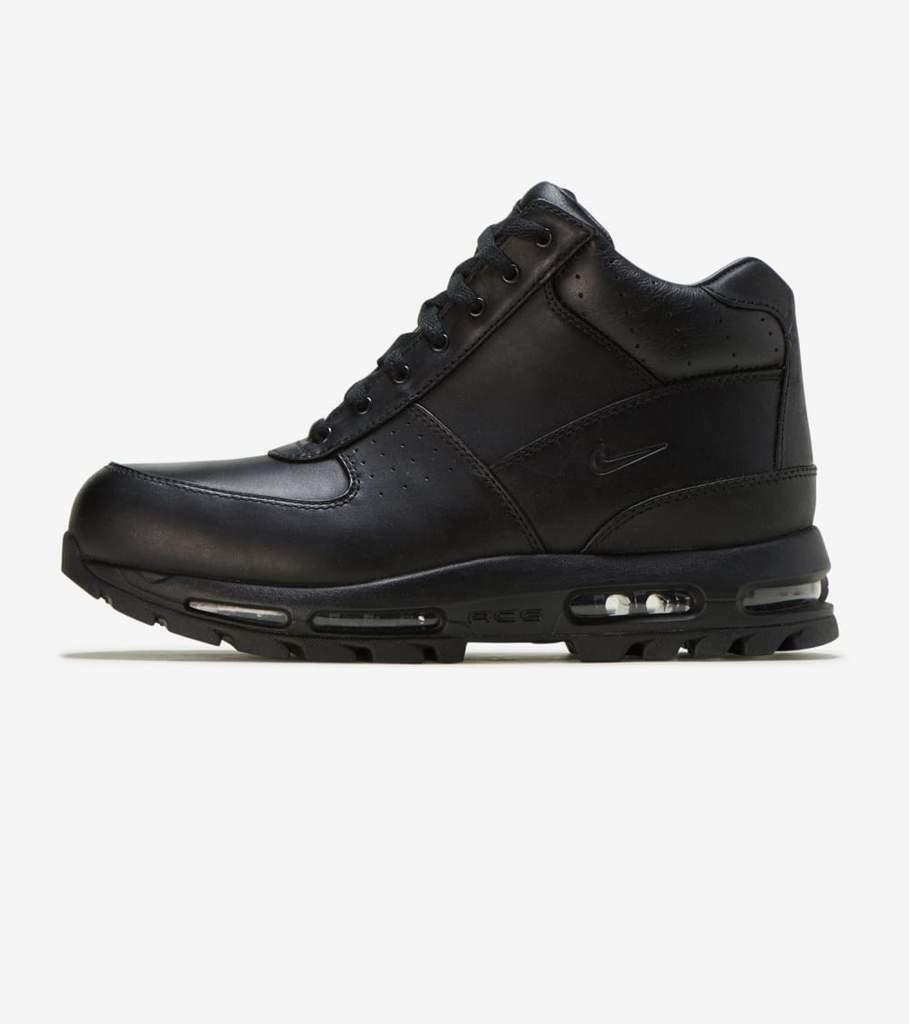 Nike Air Max Goadome TRIPLE BLACK ALL 865031-009 sz 8-15 Men's Winter Boots  Snow