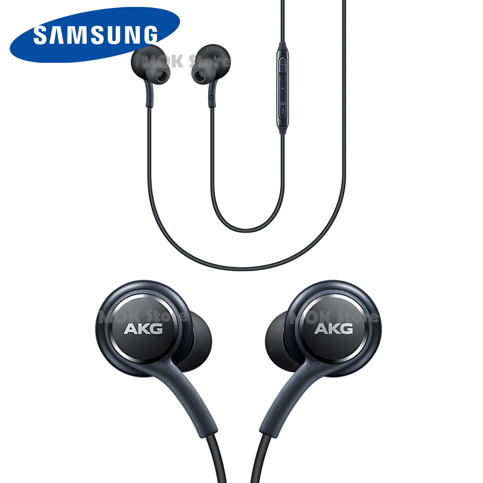 Samsung Galaxy S8 S8+ Accessory Earphones Tuned By AKG EO ...