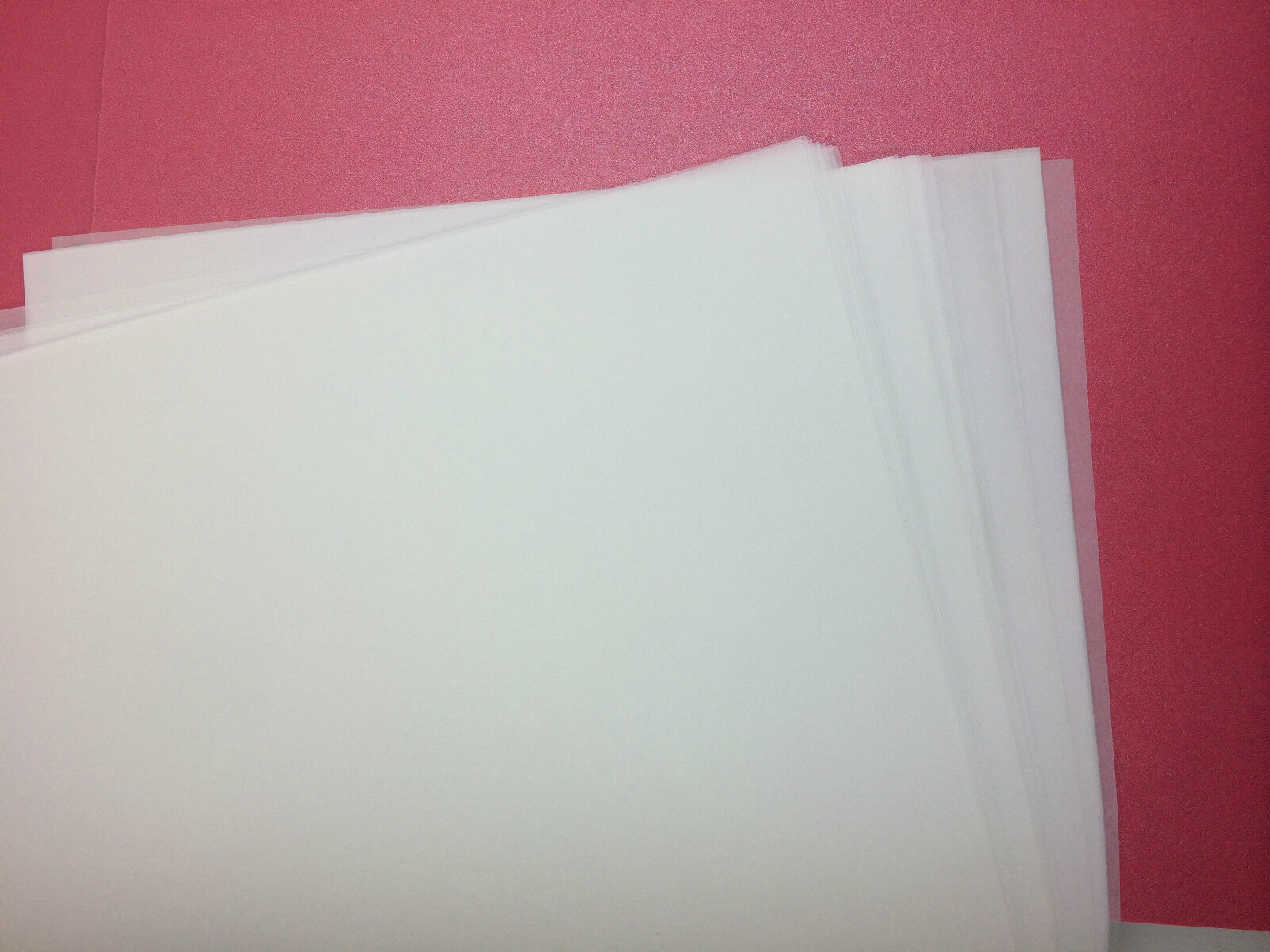 100 X Vellum Translucent Paper A4 For Scrapbooking Wedding
