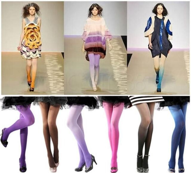 Gradient Sexy Fashion 30D Ombre Watercolor Velvet Leggings Stockings 6 Color