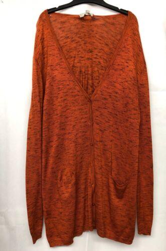 Hobbs Kaye Orange Cardigan RRP £53. Various Sizes