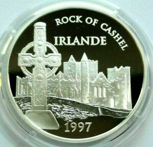 Francia, 100 francos - 15 euro 1997, 22,2 gramos de plata fija Rock of...