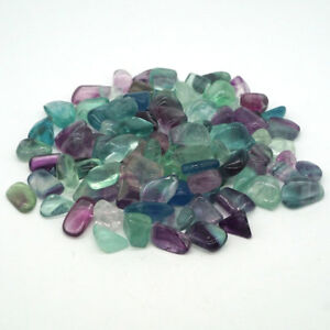 1-2lb-Natural-Fluorite-Bulk-Tumbled-Stone-Minerals-Reiki-Crystal-Healing-Decor