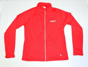 Marist-College-Red-Foxes-NCAA-Under-Armour-Womens-Track-Jacket-Red-L-Cold-Gear