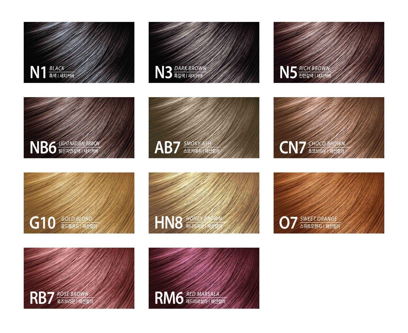Somang Flor De Man Wonder Flower Hair Color Rb7 Rose Brown