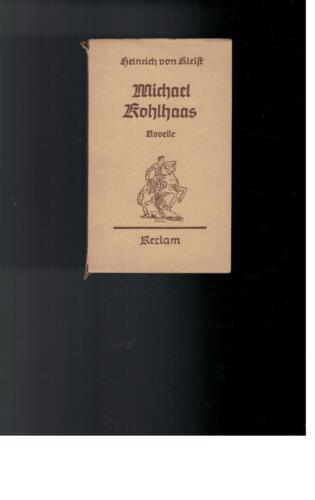 1 von 1 - Heinrich von Kleist - Michael Kohlhaas, Reclam - 1944