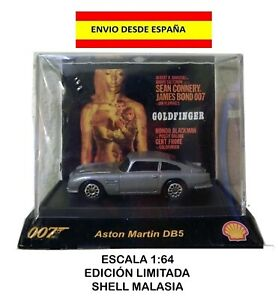 ASTON-MARTIN-DB5-1-64-GOLDFINGER-007-JAMES-BOND-SHELL-DIE-CAST-MAQUETA-MODELOS