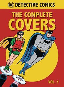 DC COMICS DETECTIVE COMICS MINI HARDCOVER BATMAN THE COMPLETE COVERS VOLUME 1