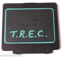 Contax Film Back Cap MK-FP - Black - Good - USED C085
