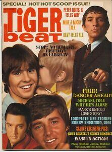 """Résultat de recherche d'images pour """"magazine tiger beat special elvis 1968"""""""