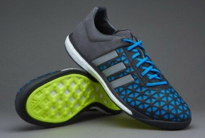 Adidas ACE 15.1 Boost B25499 indoor fútbol con Negro Azul UK10 UK10.5