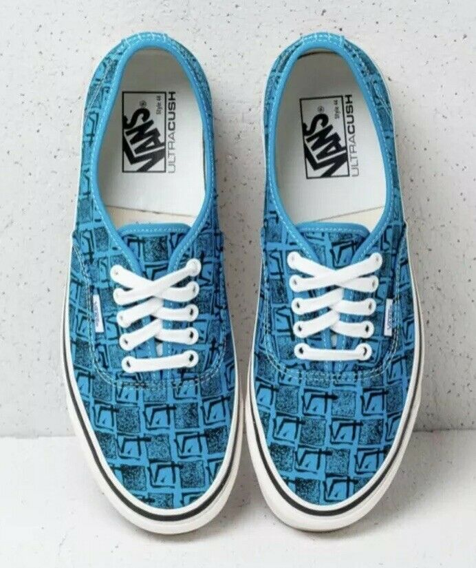 Vans Mens 9 Womens 10.5 Authentic 44 DX Anaheim Factory OG Brig bluee Sneakers
