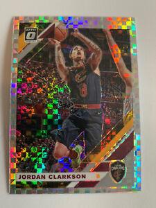 JORDAN CLARKSON 2019-20 Donruss Optic CHECKERBOARD Prizm Lakers Cavs RARE!