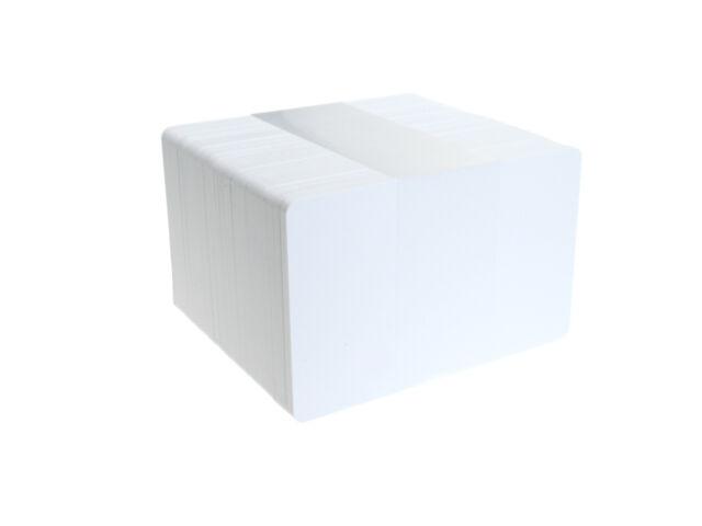 50 Blank Plastic ID Cards 86 x 54 mm (Standard ID Card size)