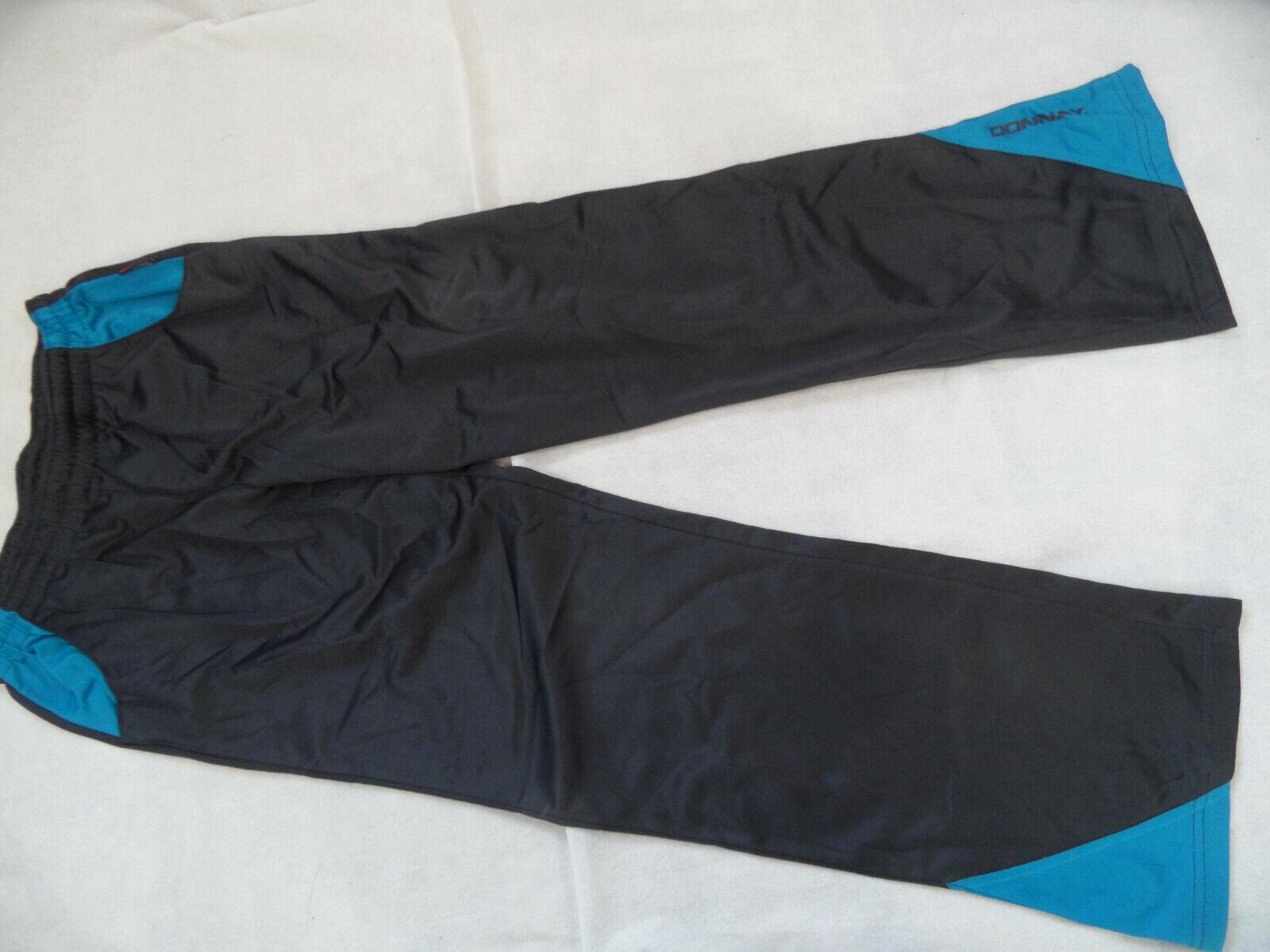 DONNAY schöne Sporthose grau türkis Gr. M TOP K320