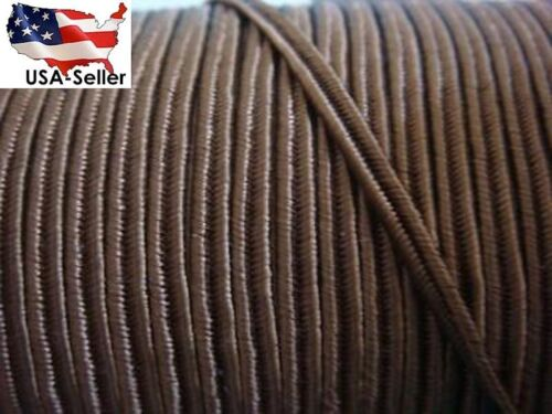 4 yards of Medium brown soutache cord non-stretch trim 1//8/'/'W
