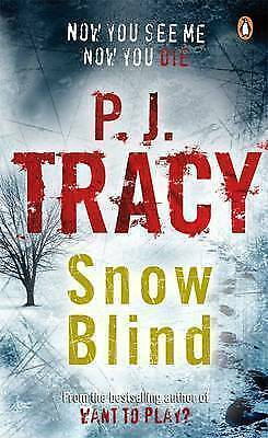 """AS NEW"" Snow Blind, Tracy, P. J., Book"