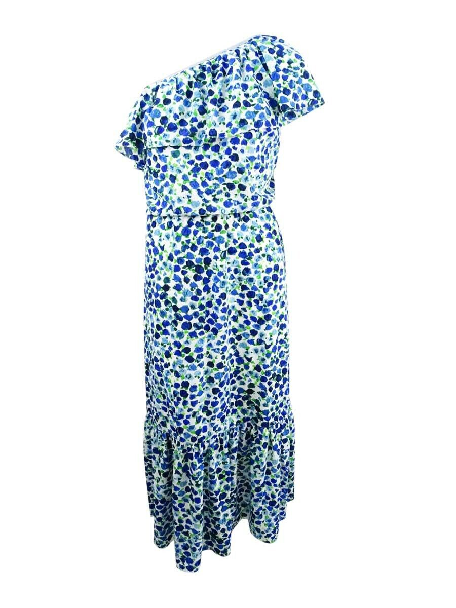 Lauren by Ralph Lauren Women's One-shoulder Maxidress