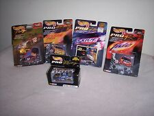 HOT WHEELS -  PRO RACING - LOT OF 5 CARDS -  NEW -  L@@K
