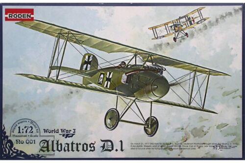 RODEN 001 1//72 Albatros D.I World War I