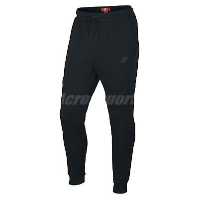 Clothing, Shoes & Accessories Ambitious Nike Tech Fleece Black Men Jogger Tapered Pants Skinny Gym Trousers 805163-010 Latest Technology