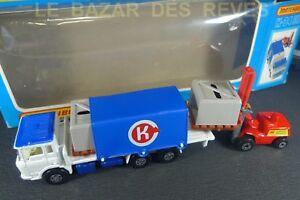 MATCHBOX-SUPER-KINGS-Camion-palettes-REF-K-34-Boite-1978
