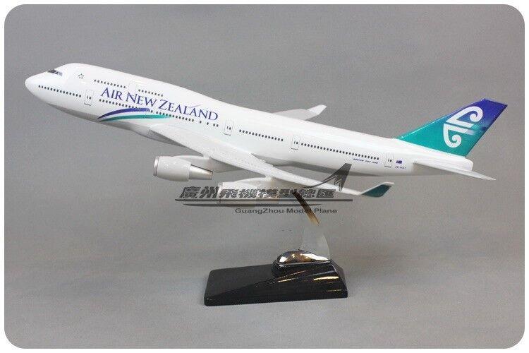 47CM 1 150 AIR NEW ZEALAND BOEING 747-400 Passenger Airplane Plane Resin Model