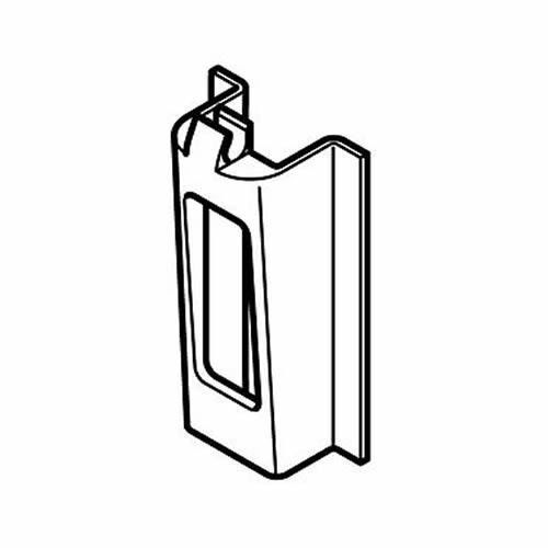 Hafele 3 pairs x Spare Clips For Pull Out Larder Storage Systems 547.26.989