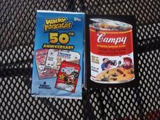 2017 TOPPS WACKY PACKAGES 50TH ANNIVERSARY COMPLETE SET OF 90 CARDS NEW