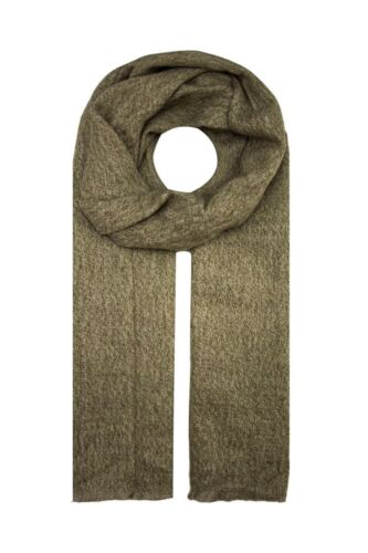 Women Men Plain Long Thick Soft Wool Scarf Autumn Winter Christmas Warm Wrap UK
