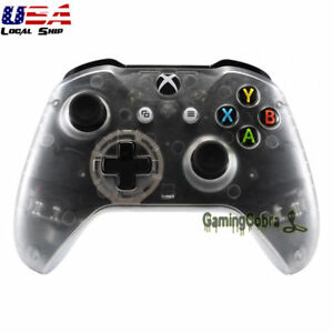 Details about For Xbox One X / One S Controller Upper Shell Replacement Kit  Custom Transparent