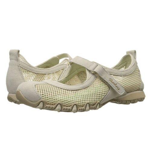 da 10 Size Mary Medium Bikers donna delle erbe Flat Jane Skechers 49250 giardino AEqUPgP