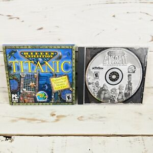 Hidden Expedition Everest & Titanic PC CD-ROM Software Lot of 2 Big Fish Games