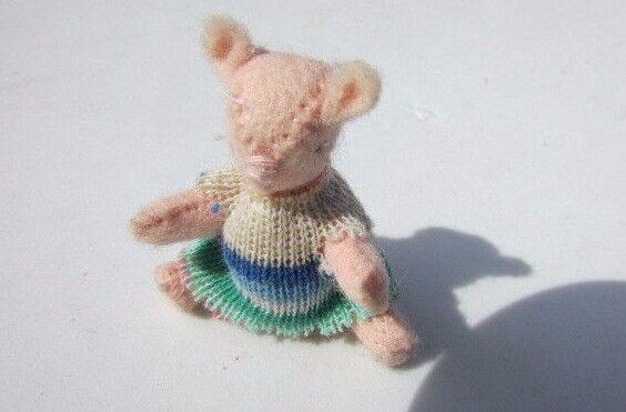 edición limitada en caliente Casa de muñecas en miniatura lechón Winnie The The The Poo Hecho a Mano Articulado magnífico 2   mejor moda