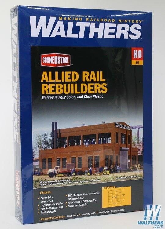 HO Walthers Cornerstone kit 933-3016  Allied Rail Rebuilders  NIB