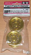 Tamiya 40133 TamTech-Gear GB-01 The Fox-Mini Front Wheels (GB01), NIP