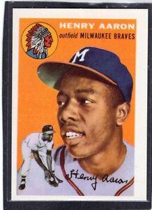 Details About 1991 Hank Aaron Topps Reprint East Coast National Show Baseball Card Rare