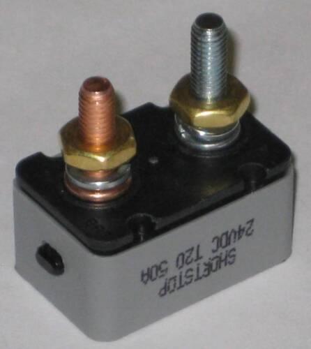 50 Amp Manual Reset Circuit Breaker Mar-Lan Ind.