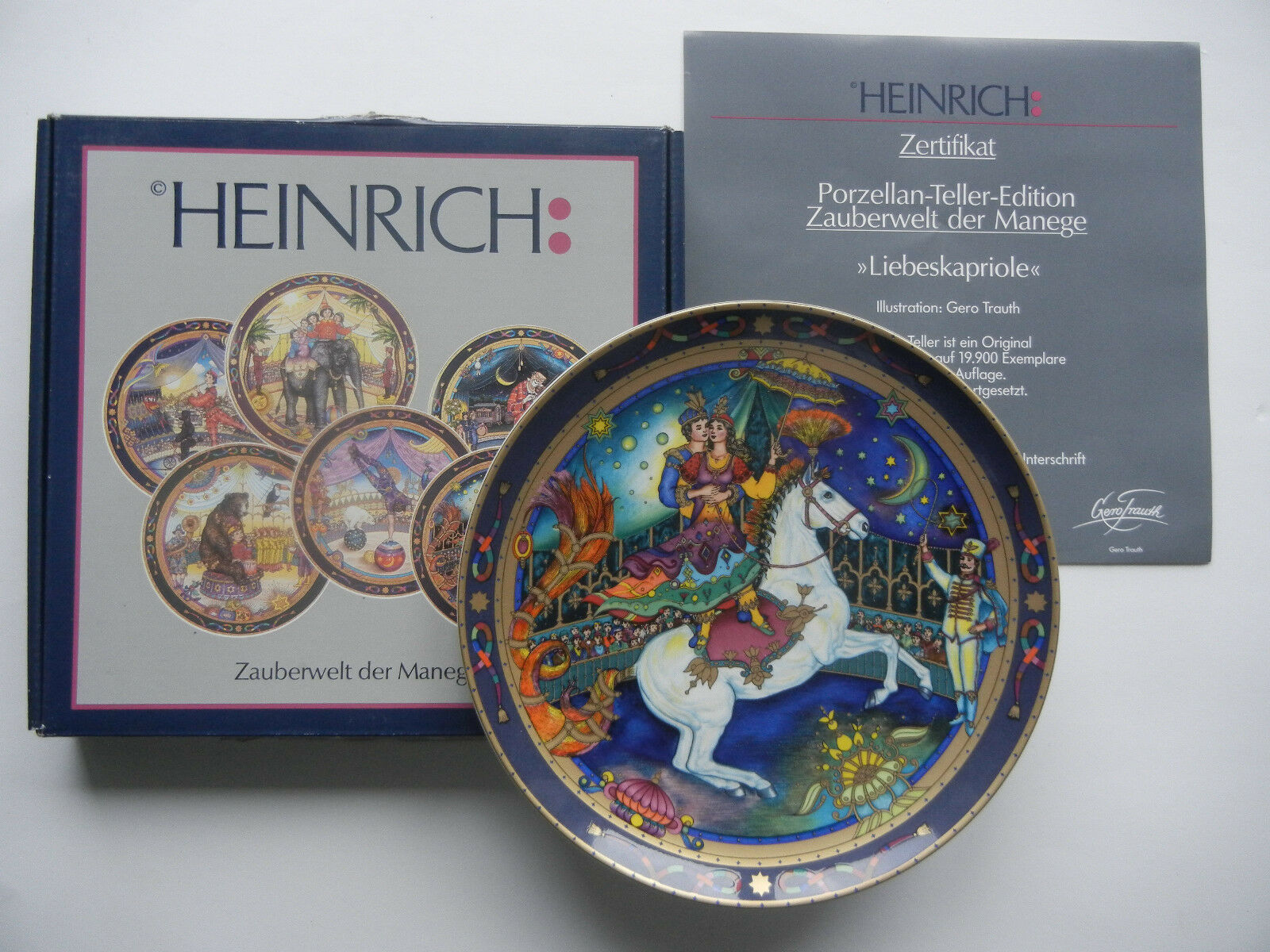 Heinrich Zauberwelt, 4  liebeskapriole + emballage d'origine (Mon article-no.