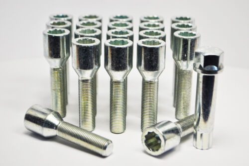 Sintonizador Tornillos Con Clave Zinc 20 X M12 X 1.5 hilo de 52mm