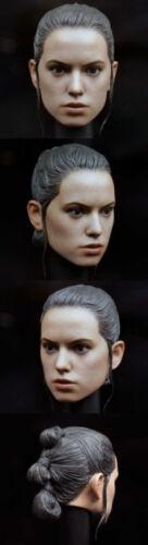 "1//6 Star Wars The Force Awakens Rey Head Sculpt Model F 12/"" Action Figure Body"