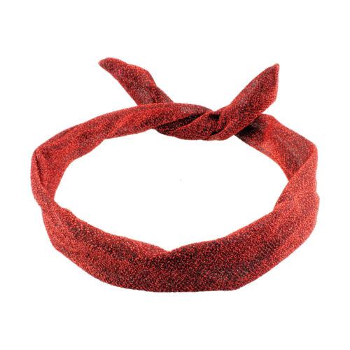 Retro Wire Headbands Wired Rockabilly Summer Head Scarf Hair Band Head Wrap
