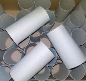 50 Küchenrollen Küchen Papier Rollen leer Karton Basteln Nager wie Klopapier