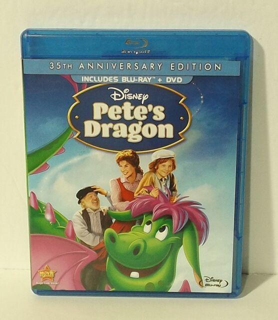 DISNEY'S Pete's Dragon (Blu-ray Disc, 2012, 2-Disc Set, 35th Anniversary Edition