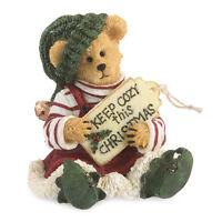Boyds Bears 2014 1e Elf Bear Bearstone Figurine Buddy Elfkin 4041879